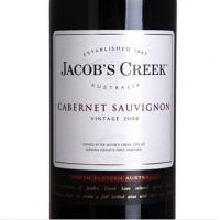 杰卡斯经典系列赤霞珠葡萄酒(Jacob's Creek vintage Cabernet Sauvignon)